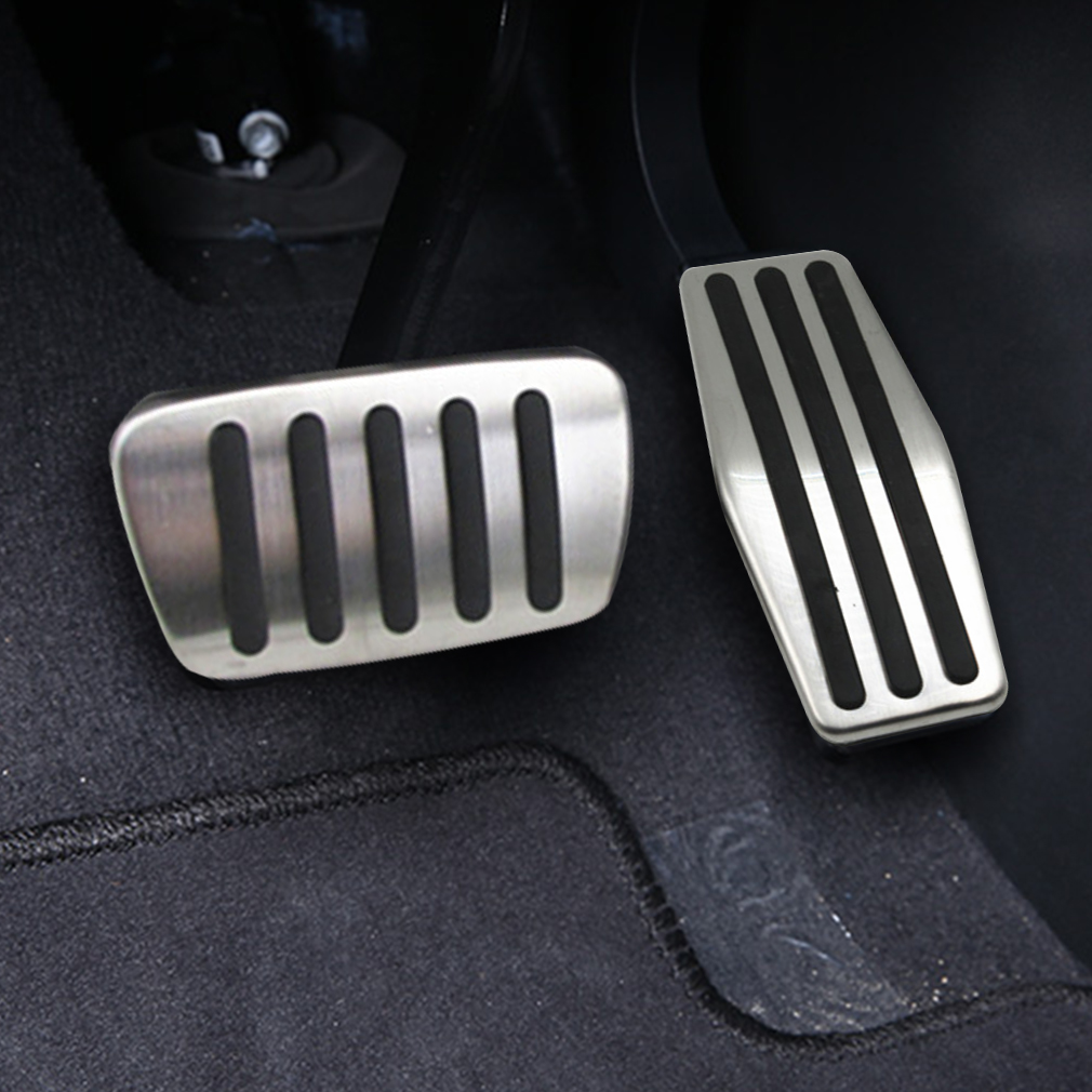 For Cadillac XTS Cruz Malibu AVEO Regal LaCROSSE Excelle(AT) stainless steel foot rest non slipstyling gas pad in Pedals from Automobiles Motorcycles