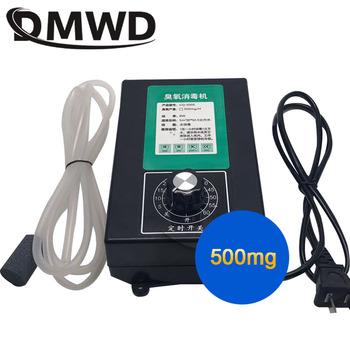 цена на DMWD 220V/110V/12V Ozone Generator Ionizer 500mg Ozonizer Water Air Sterilizer Purifier Cleaner Food Fruit Vegetable Disinfector