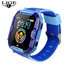 где купить 2019 new blue smart watch for kids Support 4Gsim card link WIFI to make a video call GPS Positioning Tracker SOS Baby watches по лучшей цене