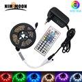 5 м 10 м 15 м 20 м светодиодный RGB водонепроницаемый 5050 гибкий светодиодный светильник ИК-пульт дистанционного управления 12 В адаптер питания
