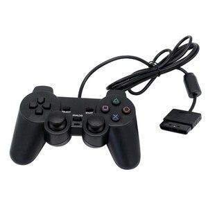 Image 5 - Wired USB2.0 משחק בקר ג ויסטיק Gamepad עבור מחשב מחשב מחשב נייד משחק ג ויסטיק קונסולת עבור פלייסטיישן 2 עבור PS2