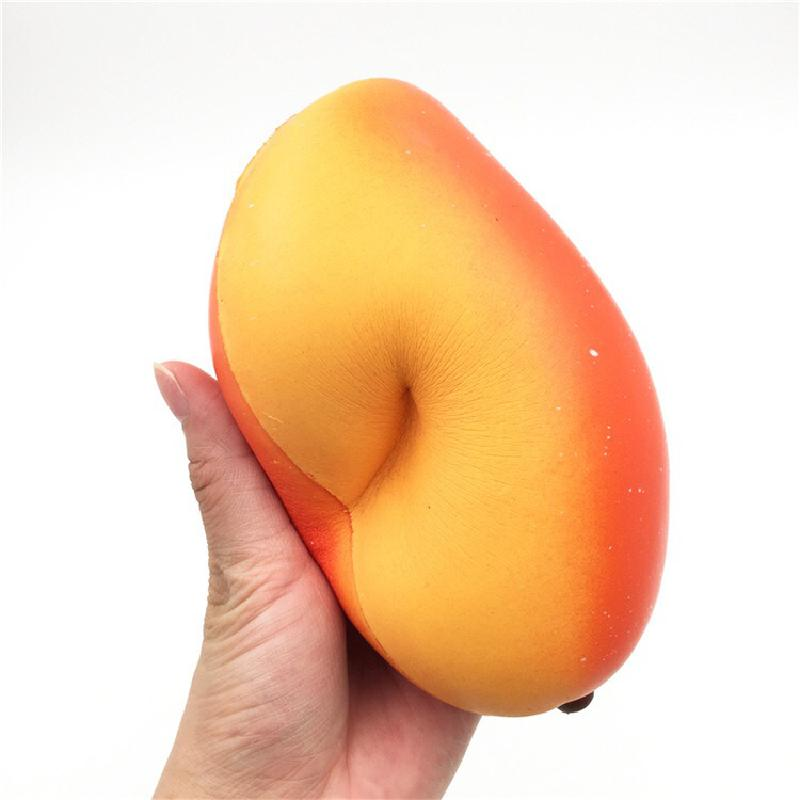 Best Selling Slow Rebound Mango Pu Material Simulation Fruit Decompression Toy enlarge