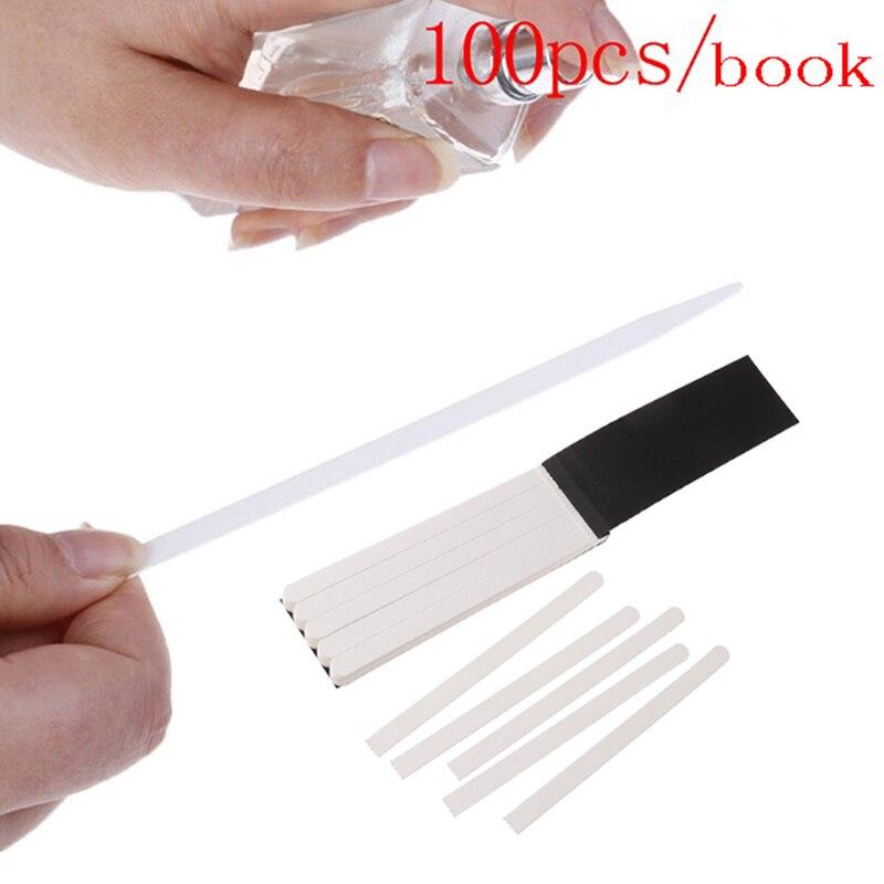 100pcs Aromatherapy Fragrance Perfume Essential Oils Test Tester Paper Strips