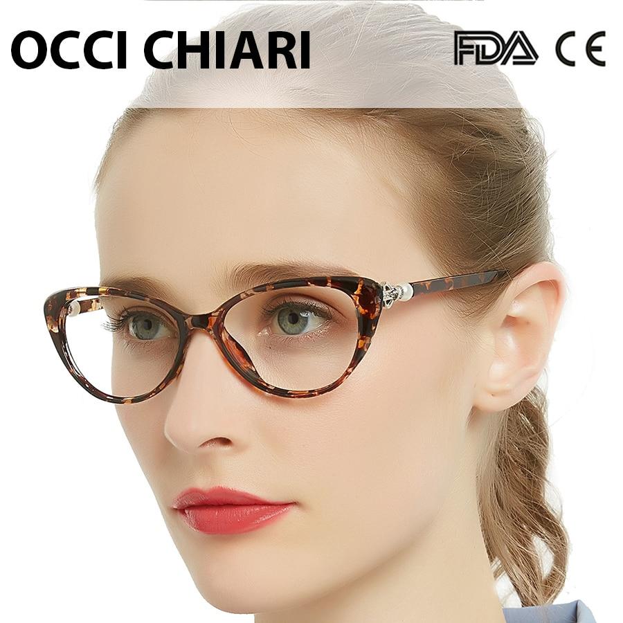 OCCI CHIAR Multifocal Anti Blue Light Reading Glasses Women Diopter Eyeglasses Pearl Progressive Reader+1.0+1.5+2.0+3.5