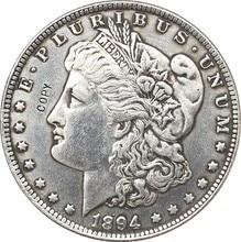 Копия монет Моргана, 1894-S, США
