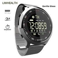 Relógio inteligente de mergulho de aço ip68 reloj inteligente smartwatch para apple/xiaomi/huawei/lenovo pk iwo 10/l8 montre conectar Relógios inteligentes     -