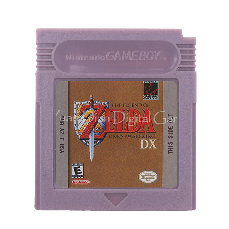 For Nintendo GBC Video Game Cartridge Console Card The Legend of Zeld Links Awakening DX English Language Version image