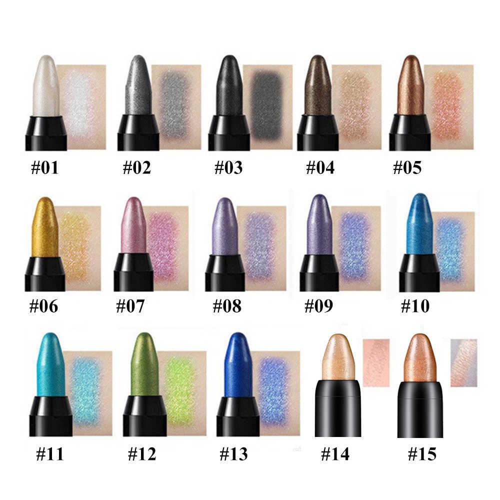 Wysokiej jakości cień w piórze profesjonalne do powiek ołówek rozjaśniacz upiększający cień w piórze cil Eye Makeup kobiety uroda kosmetyki narzędzia
