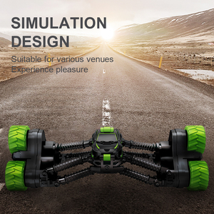Image 5 - 4WD Electric RC Car Rock Crawler Remote Control Toy Cars Off Road Radio Radio Controlled Drive Toys For Boys Kids Suprise Gift