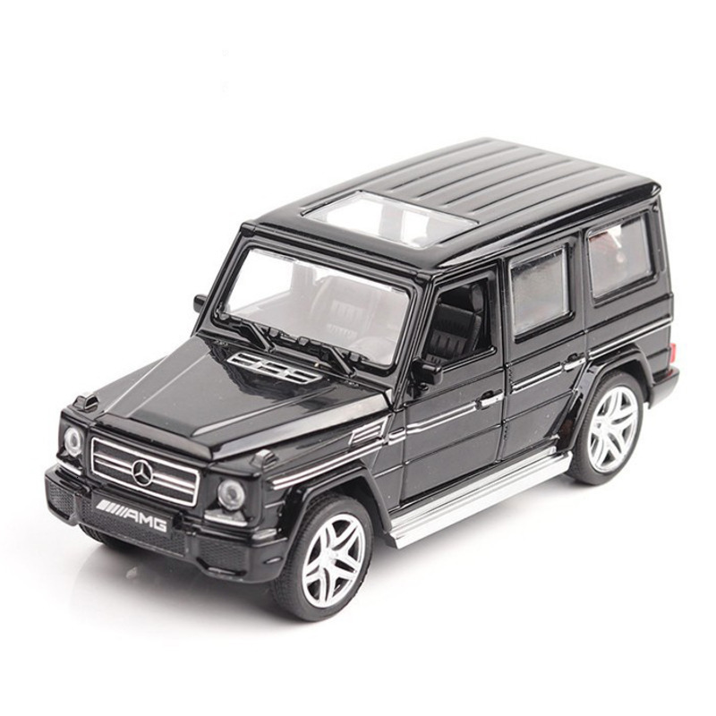 1:32 16CM Diecast Alloy Mercedes Bens G65 AMG Car Model Alloy Toy SUV Auto 4 Doors Opened Vehicles Metal Car Toys For Child Gift