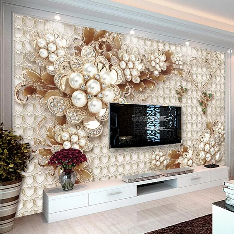 Изготовленный На Заказ 3D самоклеящиеся обои современного фоновая фотография в стиле ретро ручная роспись фон с листьями настенная живопис...