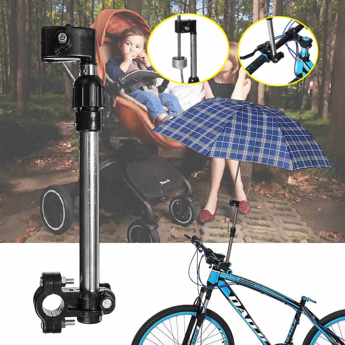 عربة اطفال المظلة الجرف قابل للتعديل المظلات قوس جبل حامل الملحقات عربة الطفل عربة حامل المظلة الدراجات الدراجة