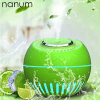 Mini Melon Humidifier Essential Oil Diffuser 380ml Aroma Lamp LED Night Light USB Ultrasonic Fogger Car air freshener