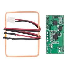 10 unids/lote 125Khz módulo lector RFID RDM6300 Sistema de Control de Acceso de salida UART mejores precios y