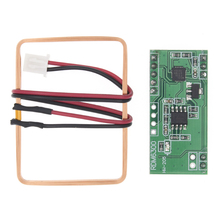 10pcs/lot 125Khz RFID Reader Module RDM6300 UART Output Access Control System Best prices&