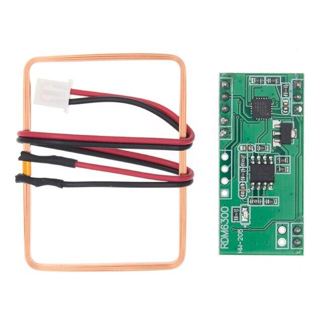 10pcs/lot 125Khz RFID Reader Module RDM6300 UART Output Access Control System Best prices&