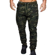 2021 Thin Autumn Winter Men Camouflage Casual Pants Sweatpants Male Cargo Multi-pocket Sportwear Joggers