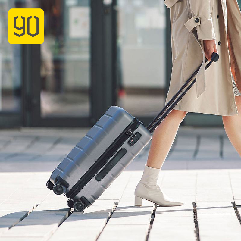 90FUN 20inch Trolley Suitcase Carry On Spinner Wheels Rolling Luggage Password Women Men Business Travel Vacation Mala De Viagem