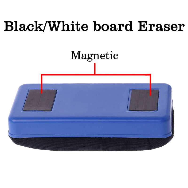 Magnetic Whiteboard Eraser Blackboard Eraser Convenient Magnetic School Office Board Dry Eraser Marker Cleaner Wipe