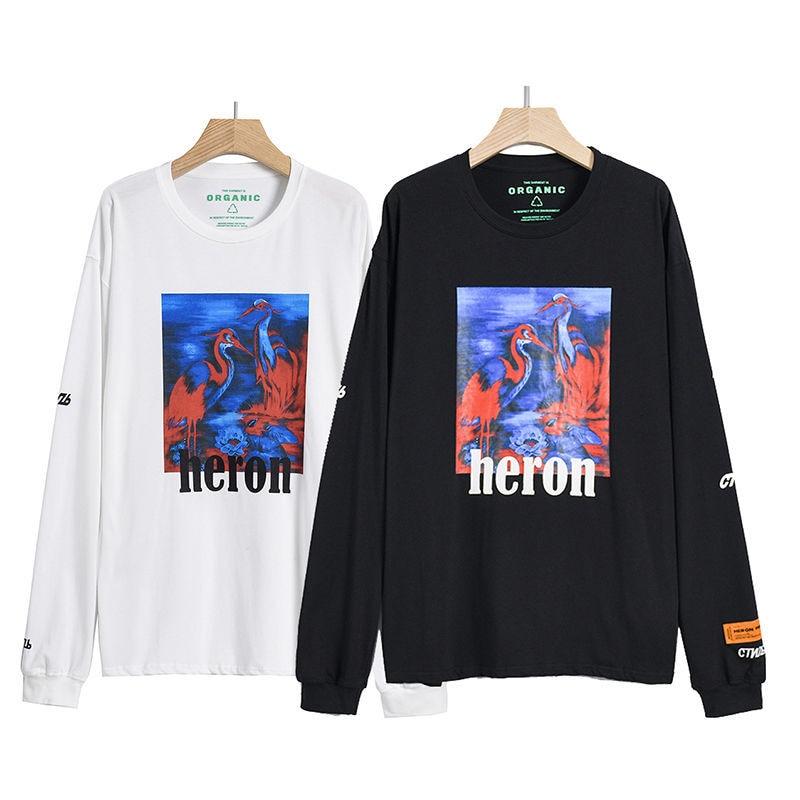 Heron Preston Fashion Long Sleeved Sweatshirt 1