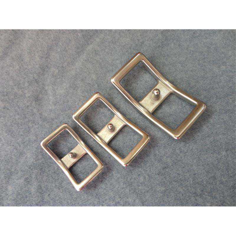 10Pcs Per Lot Stainless Steel Buckle Horse Harness Fittings Adjustable Sexy Buckle 16mm Garter Belt Buckle For Bag  Briddle