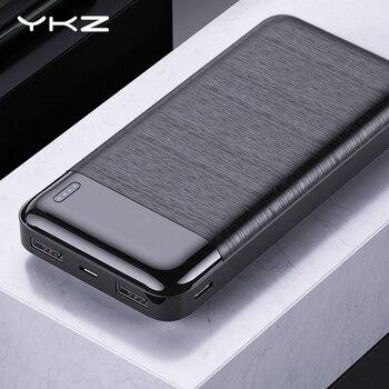 Batería Externa de 10000 mAh con cargador portátil de 10000 mAh para iPhone 11 SE Xiaomi Mi