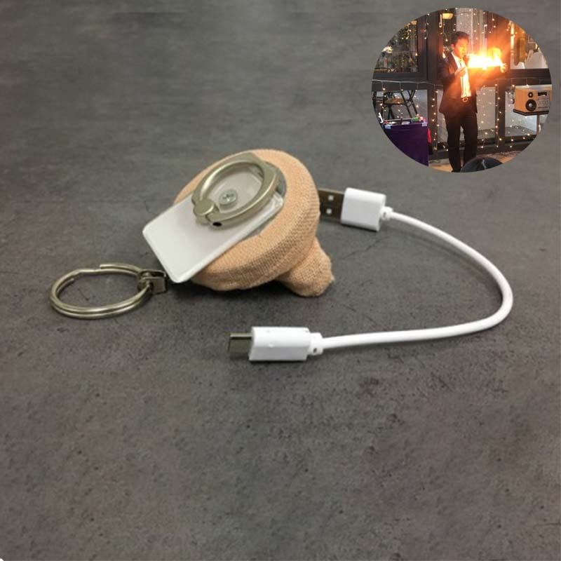 Ultimate Fire Reel - Steel Flame Road 3.0 (Charging Version) Magic Tricks Magician Stage Illusion Gimmick Prop Accessories Magia