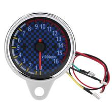 Tachometer Instruments Motorcycle-Accessories Led-Display 16000rpm Electronic DC 12V