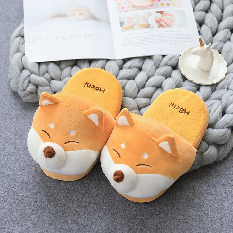 Cute Shiba Akita Innu Slippers 1