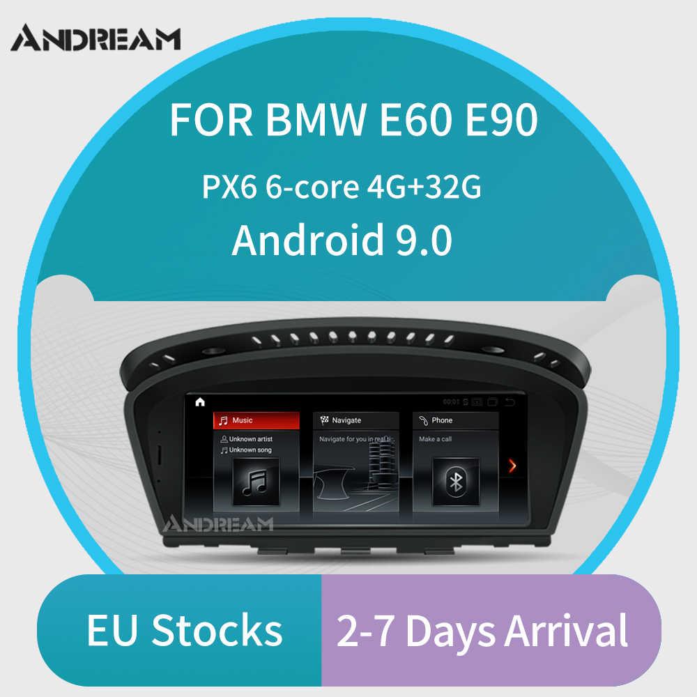 """Andream 8.8 """"アンドロイド 9.0 6 コアgpsナビゲーション車のマルチメディアプレーヤーbmwシリーズ 3/5 E90 E91 / E60 e61 M3 M5 cccシステム"""