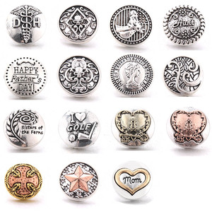 New 10pcs Snap Button Jewelry