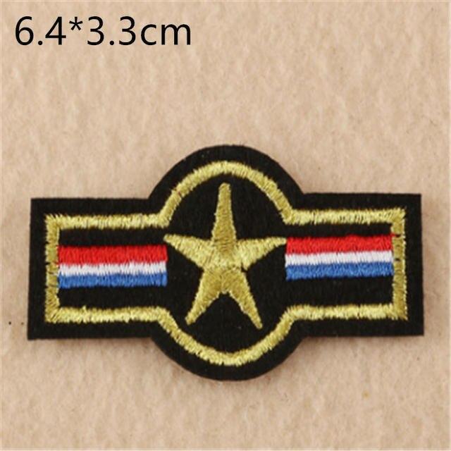 03265 Patch aplicación Stick-emblema coser 10 x 3 cm ☆ military ejercito ☆