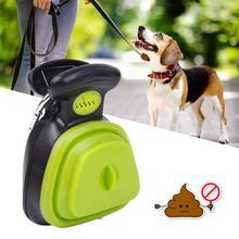 Pet Dog Poop Bag Dispenser Travel Foldable Pooper Scooper Pet Toilet Clip Shovel Convenient Dog Supplies Shoveling Poop Artifact