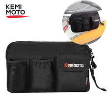 KEMiMOTO Glove Bags Storage Bag For All Vespa Model GTS LX LXV Sprint Primavera 50 125 250 300 300ie S Scooter