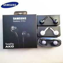 Samsung akg fone de ouvido EO IG955 3.5mm in ear com microfone fone de ouvido com fio para samsung galaxy s10 s10 + s9 s8 s7 s6 s5 s4 huawe smartphone