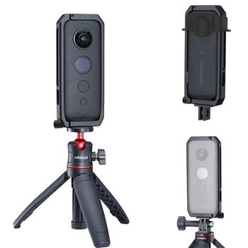 Ulanzi Insta360 ONE X aluminiowa obudowa klatki Vlog rama ochronna z obudową obiektywu do panoramicznych akcesoria do kamer sportowych tanie i dobre opinie Jeebel For Insta 360 ONE X Szkielety i Ramki Pakiet 1 Aluminium