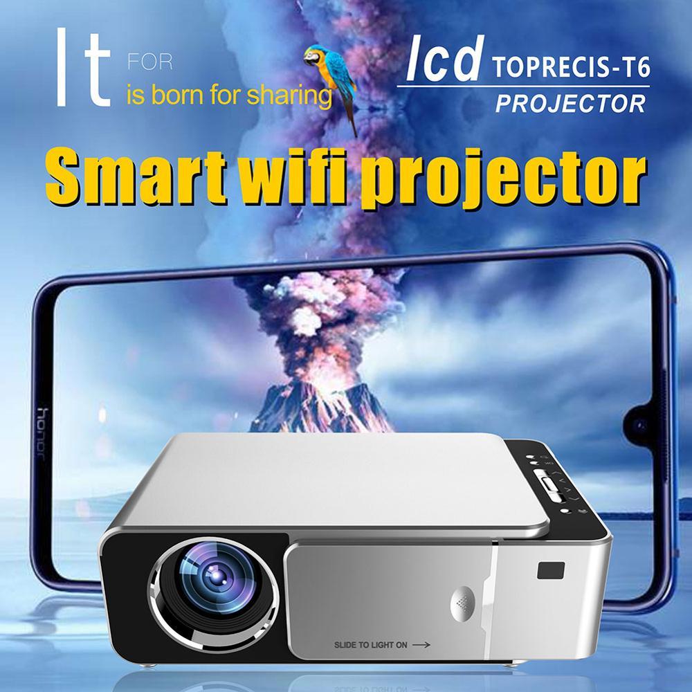Оригинальный VIVIBRIGHT GP80 проекты светодиодный 1800 люмен HD мини портативный проектор для домашнего кинотеатра Поддержка 1080P USB HDMI - 4