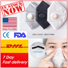 Men Women Anti-dust Face Cover Anti-pm2.5 Pollution Mascarillas Respirator Breathable Valves Filter Reusable Mouth Masque(China)