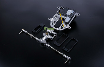 Alloy CNC SYMMETRIC TURN STEERING SET Fit for 1/5 HPI ROVAN KM BAJA 5B SS - discount item 50% OFF Toys & Hobbies