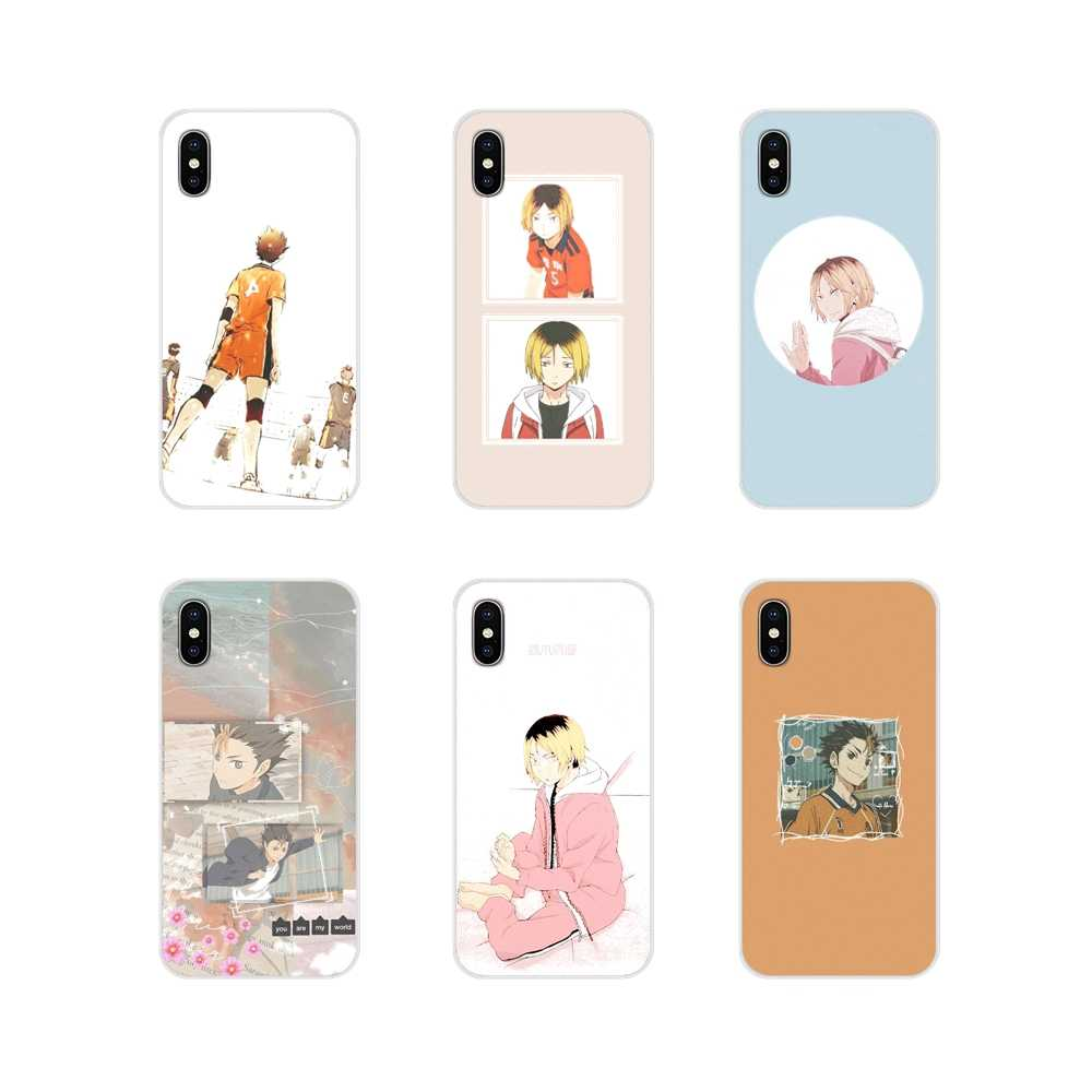 Silicone Telefoon Gevallen Cover Volleybal Anime Haikyuu Voor Huawei G7 G8 P8 P9 P10 P20 P30 Lite Mini Pro P smart Plus 2017 2018 2019