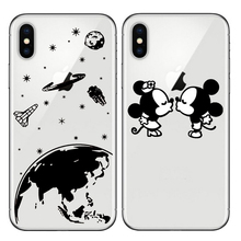 phone cover planet earth Mickey Minnie Mouse soft silicone phone case for iphone 11 5 6 7 6s 8 plus 5s se x xr xs pro max lavaza cartoon mickey mouse couple silicone case for iphone 5 5s 6 6s plus 7 8 11 pro x xs max xr
