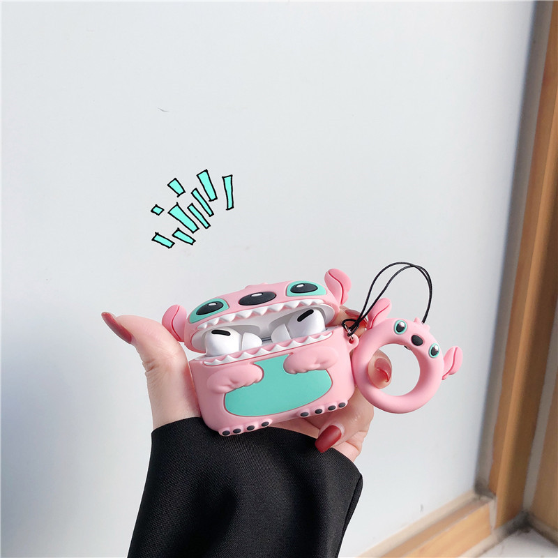 Cute 3D Silicone Case for AirPods Pro 9