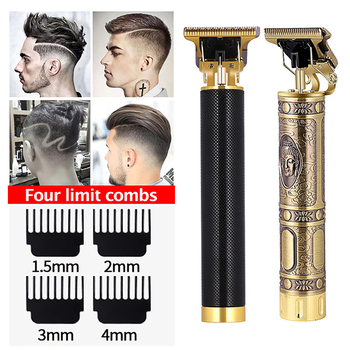 USB Rechargeable Baldheaded Hair Clipper Electric hair trimmer Cordless Shaver Trimmer 0mm Men Barber Hair Cutting Machine carved rechargeable baldheaded hair clipper electric hair trimmer cordless shaver trimmer 0mm men barber hair cutting machine