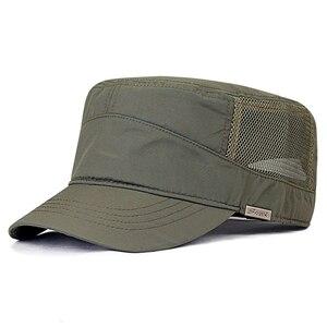 Image 1 - 겨울 큰 머리 남자 큰 크기 양 털 육군 플랫 모자 남자 여름 폴 리 에스테 르 플러스 크기 메쉬 군사 모자 55 60cm 60 65cm