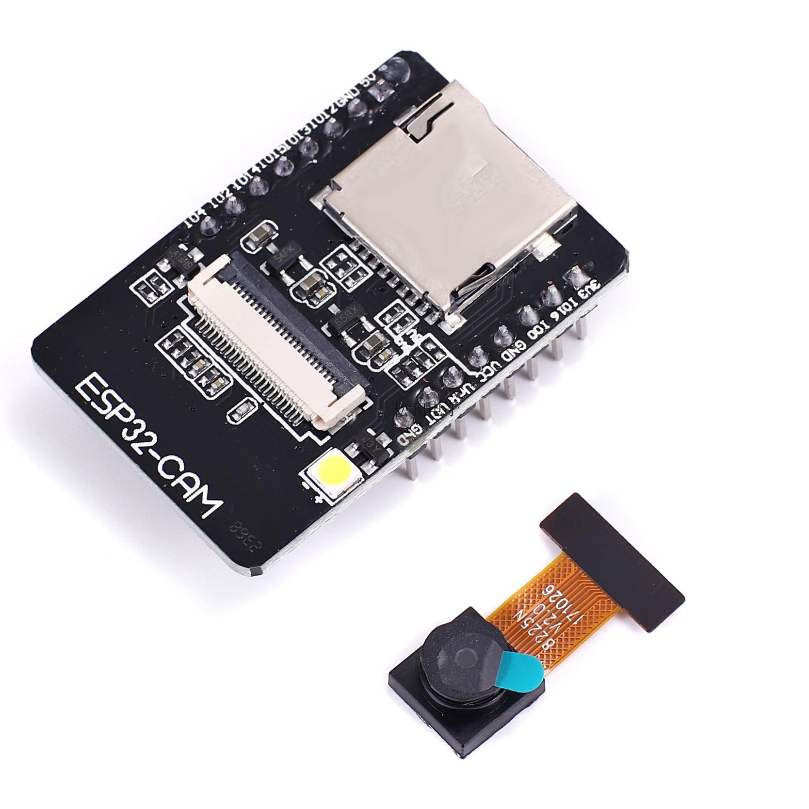 ESP32-CAM WiFi + Bluetooth модуль камеры, макетная плата ESP32 с модулем камеры OV2640 2MP