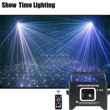 Gute Wirkung Volle Farbe Sky Star Dj Lazer Strahl Drehen Scanner Disco Laser Licht Home entertainment Party KTV Zeigen laser