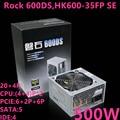 Новый блок питания для бренда Huntkey 500 Вт  блок питания для рабочей станции сервера промышленного управления 500 Вт  источник питания Rock 600DS ...