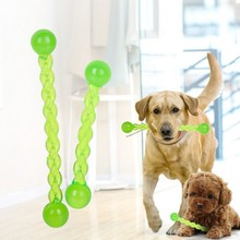 2019 New Dog Interactive Toy Pet Molar Stick Rubber Durable Teeth Clean Tool Large Size Dog Chew Toys For Small Dogs Funny Toys us pawise stick vocal utterance bone elasticity books molar dog interactive toys