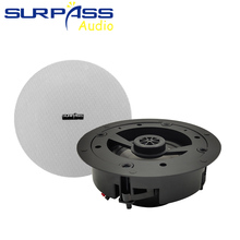 HiFi In Ceiling Speaker Audio PA Systems 25W Surround Stereo Sound 8Ohm for Home Background Music Player Coxial Public Broadcast