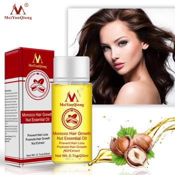 Szybka mocna esencja na długie rzęsy utrata włosów produkty olejek płynny zabieg zapobiegający utrata włosów produkty do pielęgnacji włosów 20ml tanie i dobre opinie MeiYanQiong Morocco Hair Growth Nut Essential Oil 1box Leczenie włosów i skóry głowy